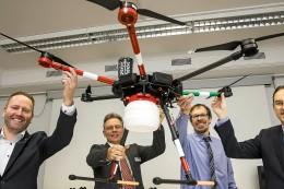 Drohnen im Einsatz für das Patientenwohl