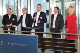 Neujahrsempfang bei VW Financial Services