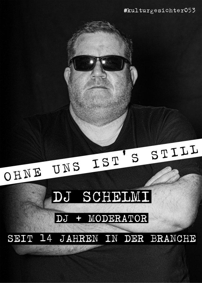 """Auch der DJ und Moderator Tobias Schelm ist ein """"Kulturgesicht"""" aus der Region."""