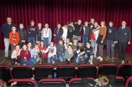 Im Wolfsburger Delphin-Kino gibt's Pokale