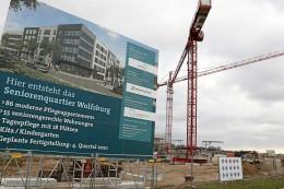 In Wolfsburg entstehen viele neue Pflegeplätze